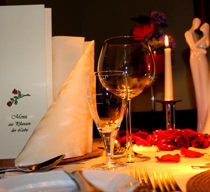 Romantisches Dinner für Zwei